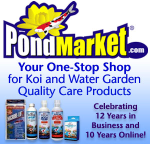 Koi and Water Garden Quality Care Products